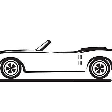 1967, 1968, 1969 Pontiac Firebird Convertible by azoid