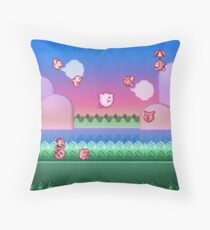 Kirby Level One Throw Pillow