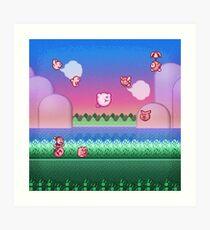 Kirby Level One Art Print