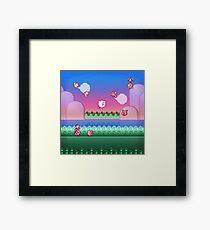 Kirby Level One Framed Print