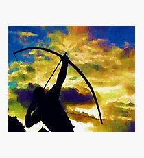 Long Bow Archery Photographic Print