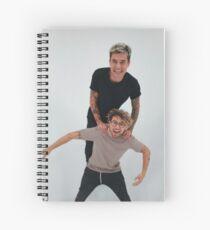 Cuaderno de espiral Kian Lawley y Jc Caylen