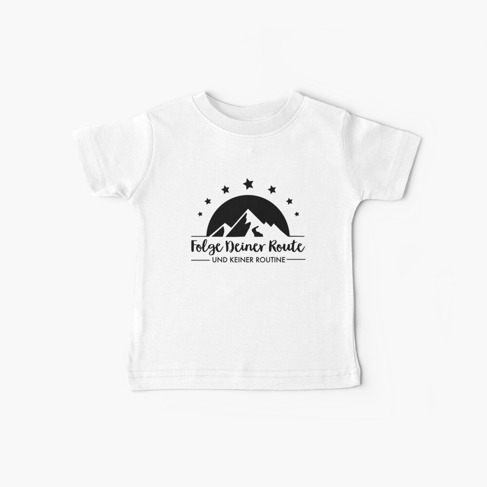 Hiking - Follow your route Baby T-Shirt