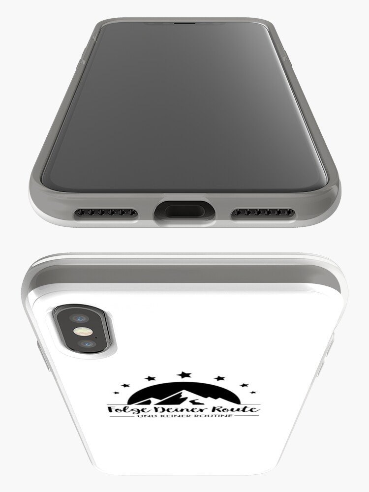 Alternate view of Hiking - Follow your route iPhone Case & Cover