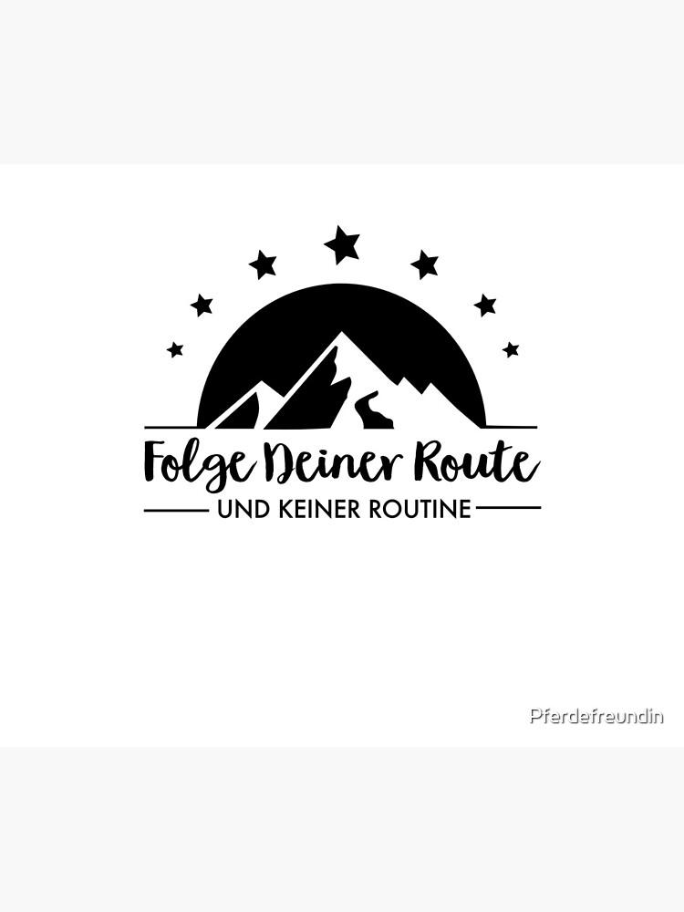 Hiking - Follow your route by Pferdefreundin