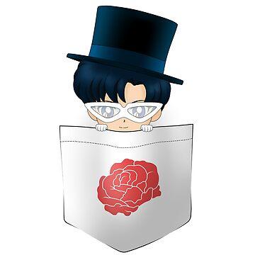 Tuxedo Mask Poket (Mask ver.) by A-aru