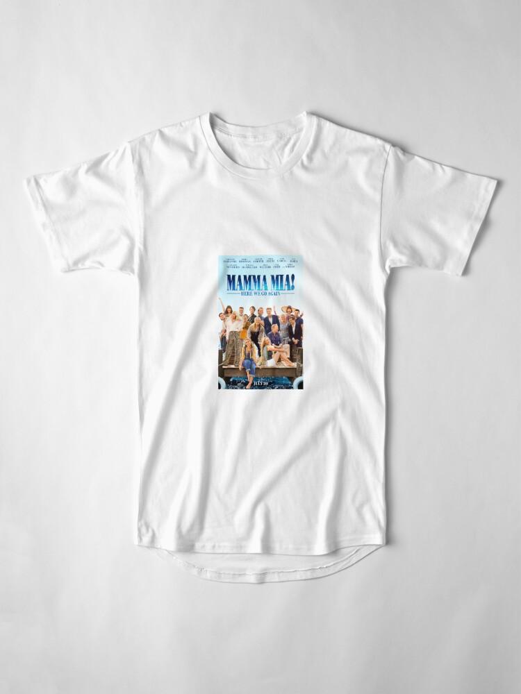 Vista alternativa de Camiseta larga Mamma Mia - ¡Aquí vamos otra vez!