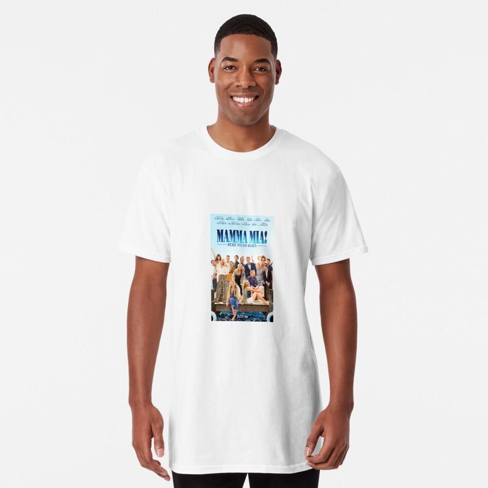 Mamma Mia - ¡Aquí vamos otra vez! Camiseta larga