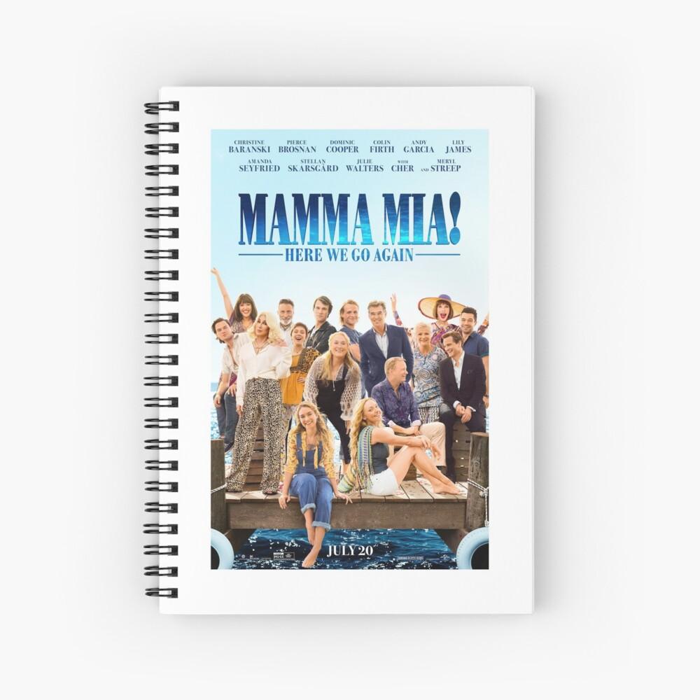 Mamma Mia - ¡Aquí vamos otra vez! Cuaderno de espiral