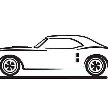 1967, 1968, 1969 Pontiac Firebird by azoid