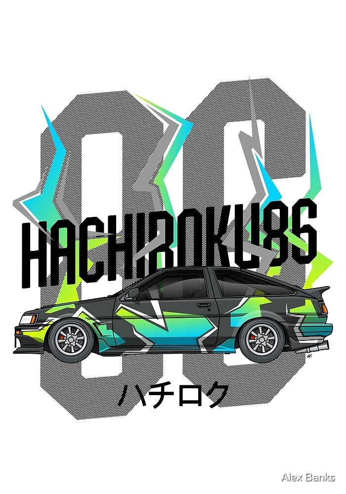 Hachiroku86 AE86 by Alex Banks
