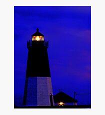 Point Judith Lighthouse, RI, USA Photographic Print