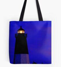 Point Judith Lighthouse, RI, USA Tote Bag
