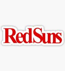 Initial D RedSuns Sticker