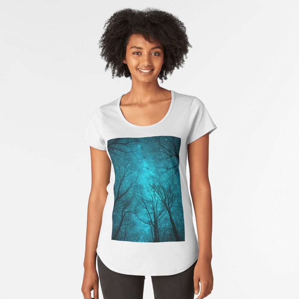 Sterne können nicht ohne Dunkelheit leuchten Premium Rundhals-Shirt