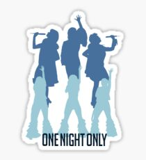 Donna and the Dynamos, for one night only! Sticker