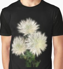 Electric Flowers! Graphic T-Shirt