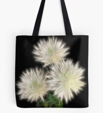 Electric Flowers! Tote Bag