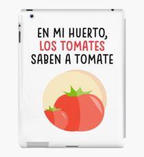 Tomatoes that taste like tomatoes iPad Case/Skin