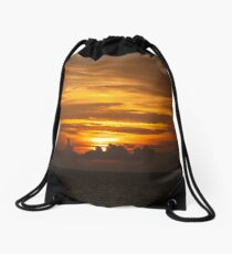 Sunset, for My Friends xxxx Drawstring Bag