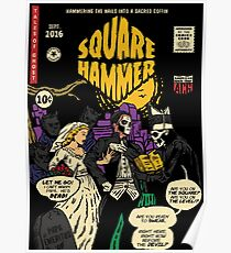 Square Hammer - Ghost Comic Series Poster