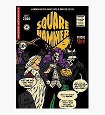 Square Hammer - Ghost Comic Series Photographic Print