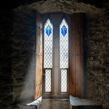 Castle window by babibuba