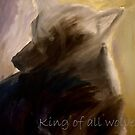 King of all the wolves by Pablo Lavaniegos Ramírez