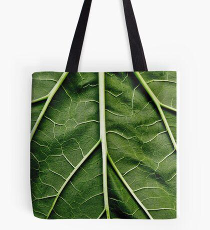 Rhubarb leaf Tote Bag
