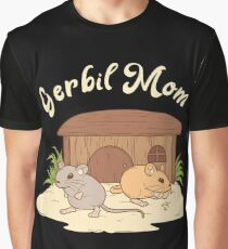 Gerbil mom gerbil mouse mouse rat rodent tshirt gift Graphic T-Shirt