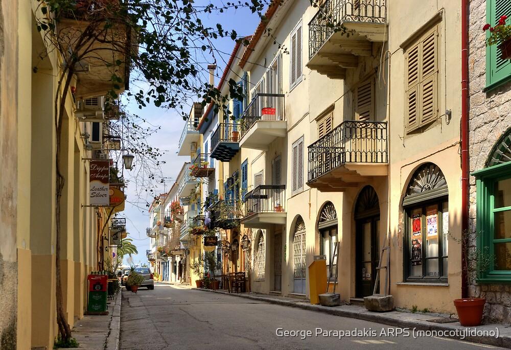 Nafplio - Old Town by George Parapadakis ARPS (monocotylidono)