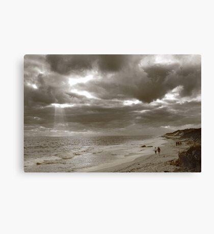 Winters Afternoon At Burns Beach Western Australia Canvas Print