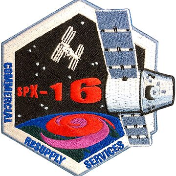 CRS-16 The NASA Patch by Spacestuffplus