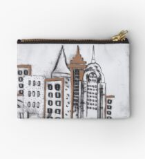 Cloudy in the City Studio Pouch