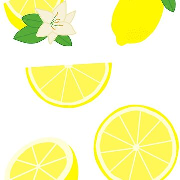 Lemon Sticker Pack by Stickers-By-Sam