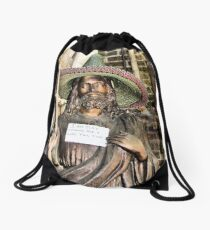 Senor Jesus Drawstring Bag