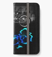 BMX Bike Sport Farbige Reflexion, iPhone Flip-Case/Hülle/Klebefolie