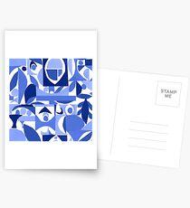 tango in blue ... Postcards