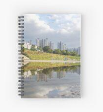 urban reflections (horizontal edition) Spiral Notebook