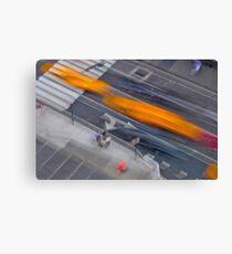 Fast Cars Canvas Print