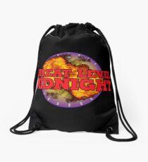 Threat Level Midnight Logo Drawstring Bag
