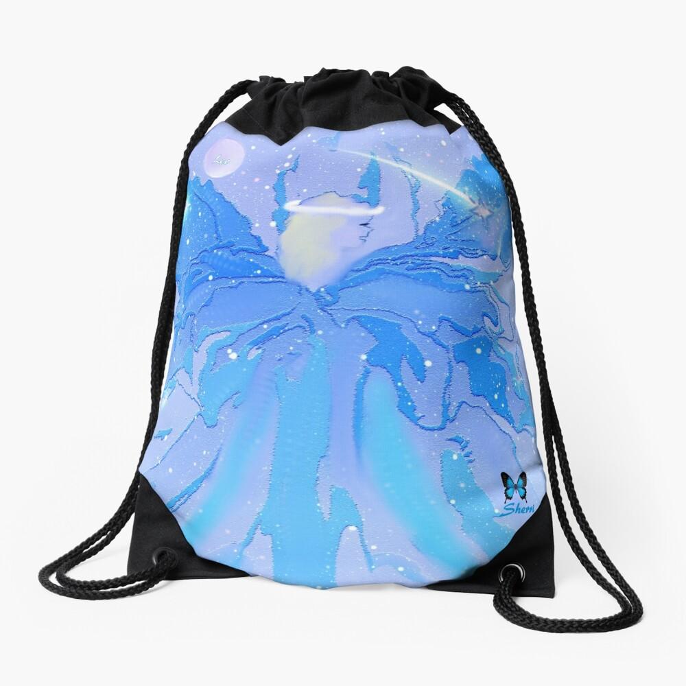 AUGUST ANGEL.............................LEO Drawstring Bag