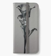 Silvery lily iPhone Wallet/Case/Skin