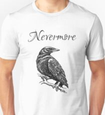 "Edgar Allen Poe - The Raven ""Nevermore"" Unisex T-Shirt"
