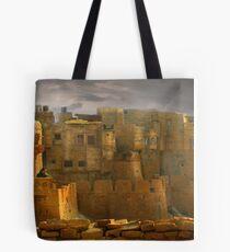 Lone Woman of Jaisalmer Tote Bag