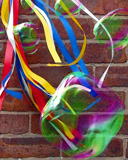 Bubbles & Ribbons by riotphoto