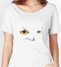 Snowy Owl Women's Relaxed Fit T-Shirt