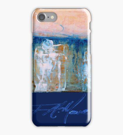 Three Princes. FA Moore Signature design, in Royal Blue iPhone Case/Skin