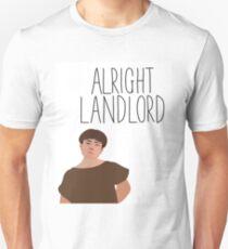 Grumio Plebs Alright Landlord? Unisex T-Shirt