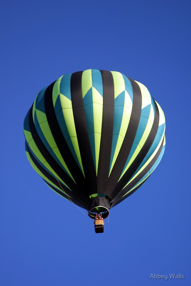 Green Balloon & Blue Sky (as-is) by Abbey Walls